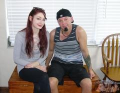 Hot Babe Gives A Handjob - Violet Monroe and Ray Edwards