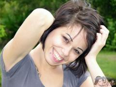 Hot Brunette Babe - Bailey Model