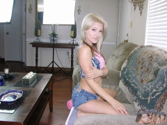 Amateure Blonde Teen