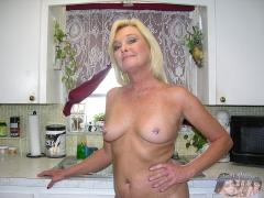 Blonde Married MILF