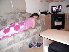 uk SILF from birmingham holly harris in pyjamas