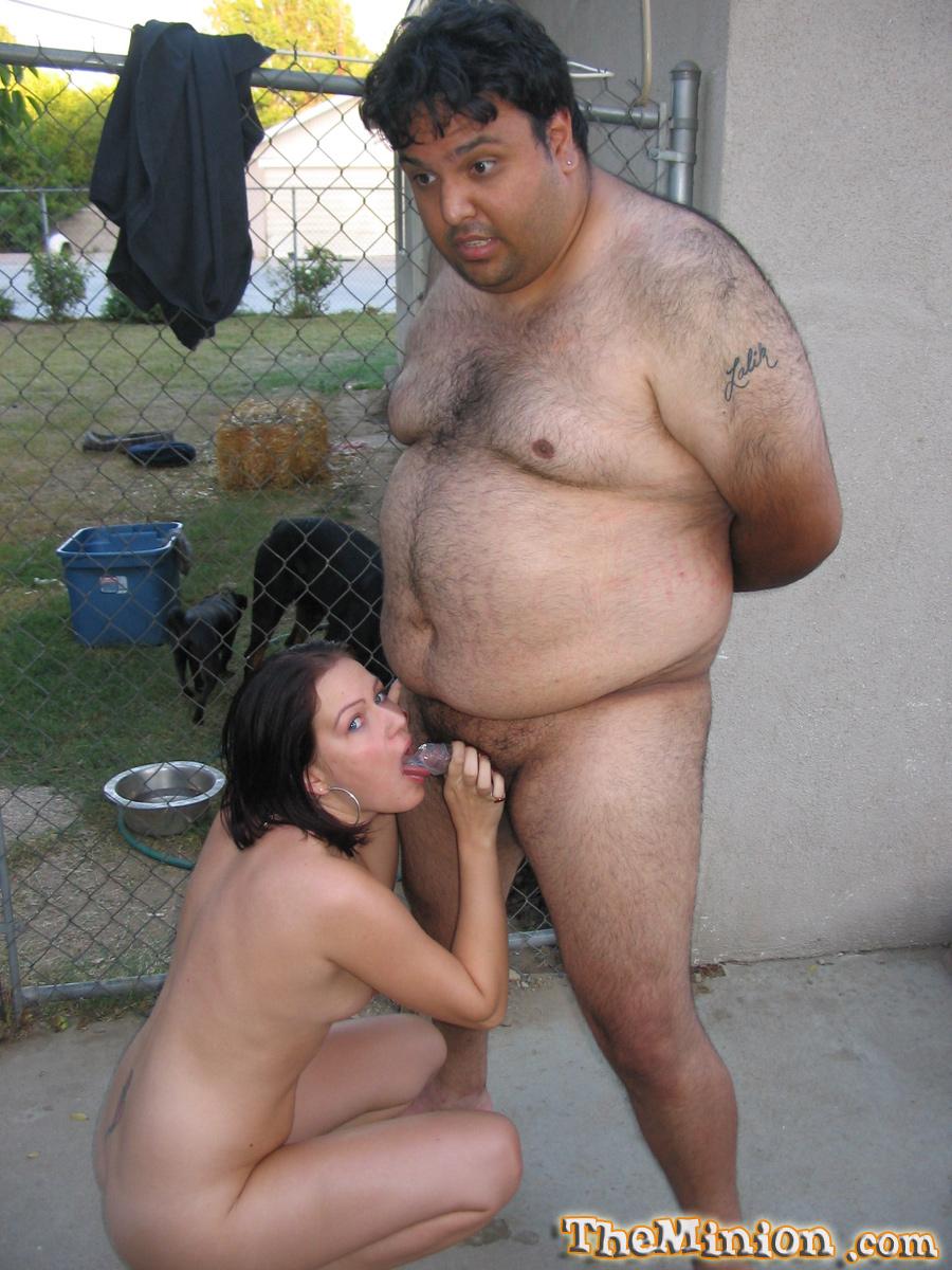 Сосет у толстого парня 16 фотография