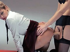 neverending-strap-on-girl2girl-action