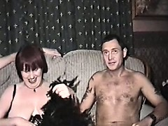 homemade film with mature slut and three men