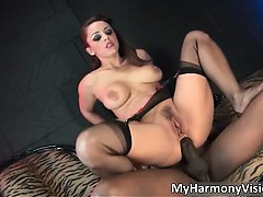 Horny Brunette With Huge Tits Liza Del Part1