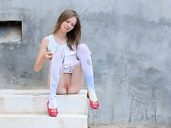 beautiful-shower-from-thin-copulate-doll