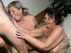 Nasty Mature Sluts Get Horny Sharing Part4