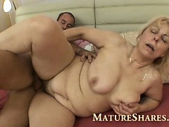Mature Blonde Wife Cheating