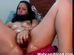 hot-mature-big-dildo-in-hairy-pussy