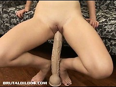 armani-stretches-her-wet-pussy-out-with-a-massive-dildo