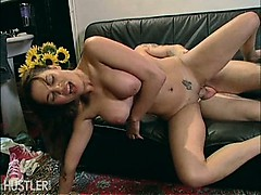 latina fucked on a couch