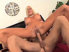 Big tit MILF stuffed with hard cock