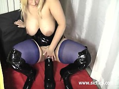 crazy-milf-fucks-a-titanic-dildo-in-both-her-holes
