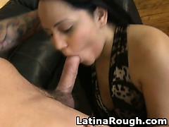 Latina Amateur Gets Slapped Around And Face Fucked