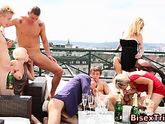 Bisexual Group Blowjob Fuck Orgy