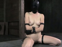 maledom-giving-sensorial-depravation-to-useless-submissive