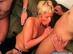 Some Mature Slut Enjoys In Sex Party