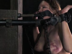savage-folded-skank-getting-caned