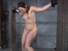zipper-clamped-submissive-learns-discipline