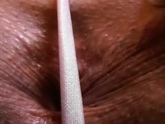 Big Ass In G String Gapes Her Ass