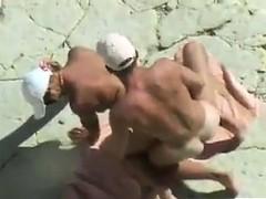 horny-couple-fucking-at-the-beach
