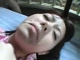 Hairy Japanee Girl Gets A Facial
