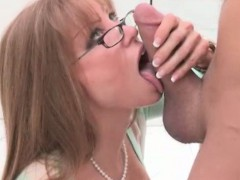Stepmom Darla Crane Fucking With Teen Couple On The Bed