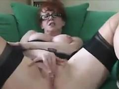 mature-redhead-in-lingerie