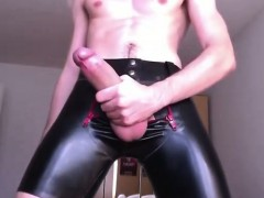 huge-dick-and-rubber-shorts