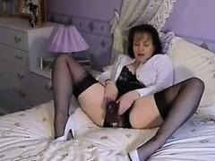 granny in lingerie masturbating granny sex movies