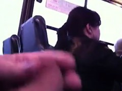 Cock Flashing On The Bus