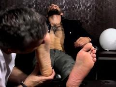 masculine-bearded-stud-tino-kicks-back-to-get-his-feet
