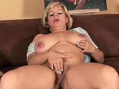 soccer-mom-works-her-mature-pussy-with-a-dildo
