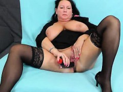 horny-housewife-pleasing-with-her-plastic-penis