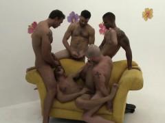 Tony Newport Goes Black At A Gay Orgy