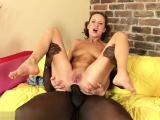 Hot girlfriend anal squirting