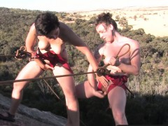 girls-out-west-hairy-lesbians-climbing-the-rock