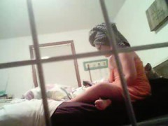 38-years-old-nathalie-spied-in-bedroom