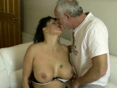 milf-rims-ben-dovers-ass-and-gags-before-taking-anal