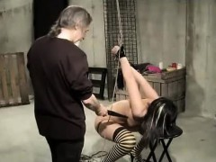 pussy-clamped-shocked-and-whipped