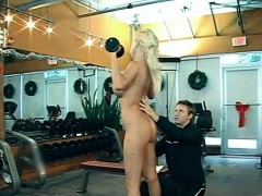 blonde-busty-milf-doing-her-work-out-naked