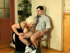 fat russian grandma and her young lover – سكس نيك روسي