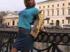 hot-russian-jeans-miniskirt-blonde