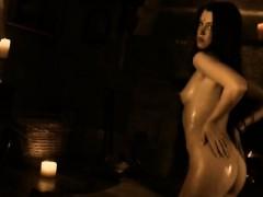 Exotic Ritual Sensual Babe