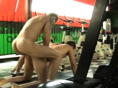 muscular-latino-gays-bareback-sex-in-gym
