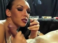 sexy-slut-smokes-and-sucks-on-a-cock