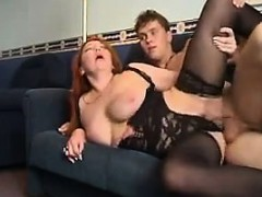 Mature Woman And Her Younger Lover Fuck