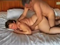 Chubby Woman Getting Double Penetrated