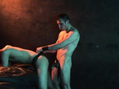 older-sm-stud-deepthroats-his-kneeling-twink-slave