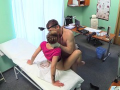 doctor-pov-fucks-short-haired-patient-in-fake-hospital